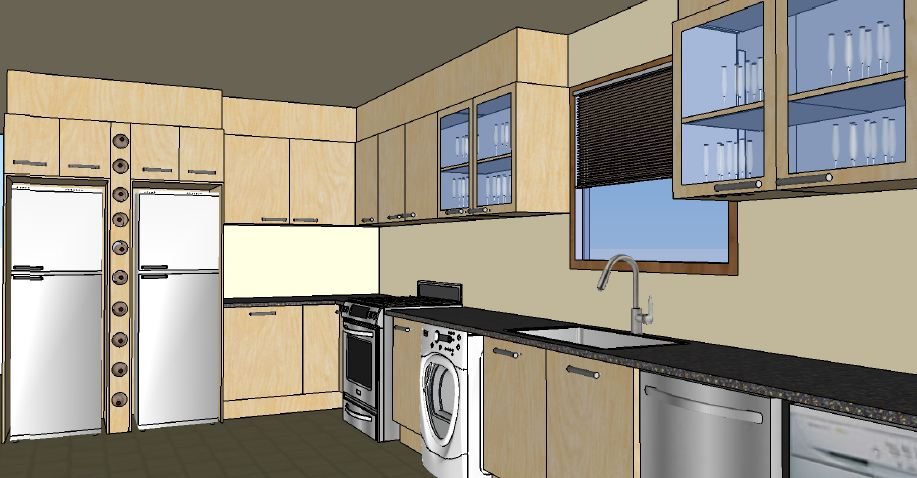 Kitchen Design 3d